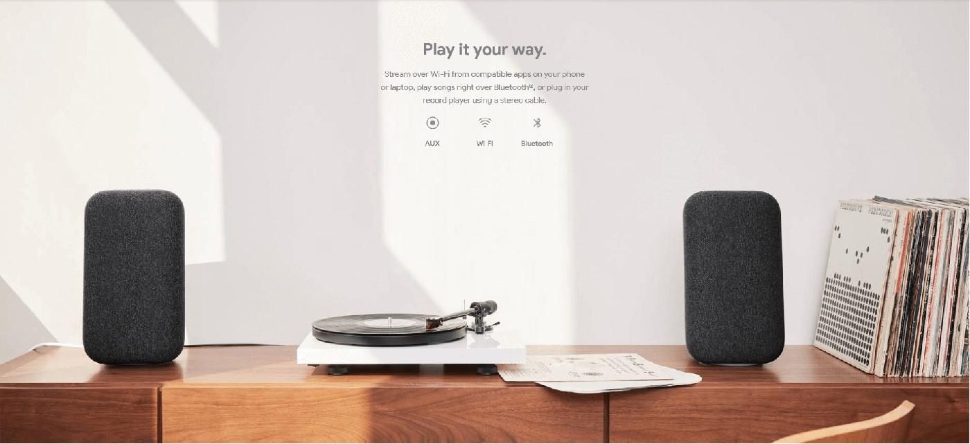 google home max audio