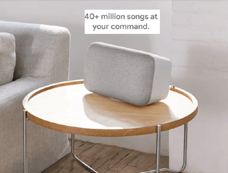 google home songs command