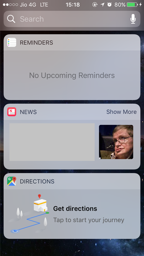 how to clear search history on iphone maps