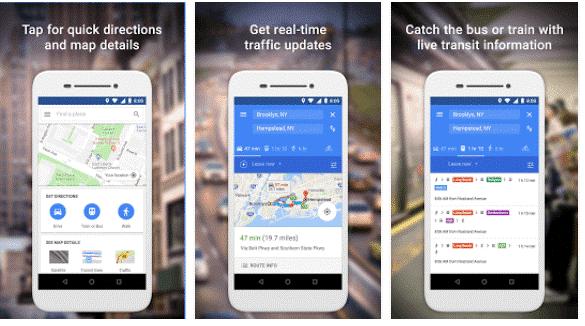 google maps go lighter version