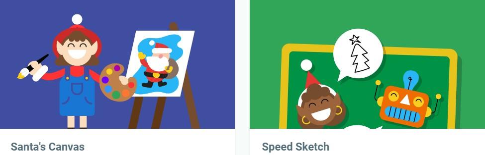 google santa activities