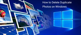 how to delete duplicate photos