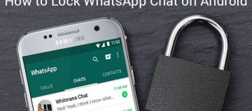 how to lock whatsapp chat on android