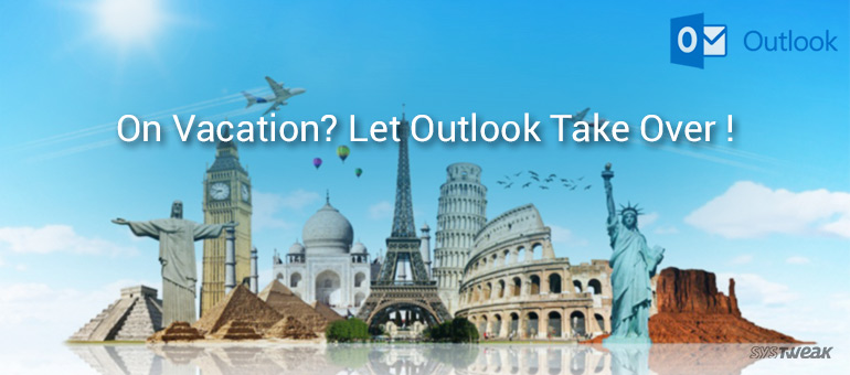 how to use out of office assistant in outlook