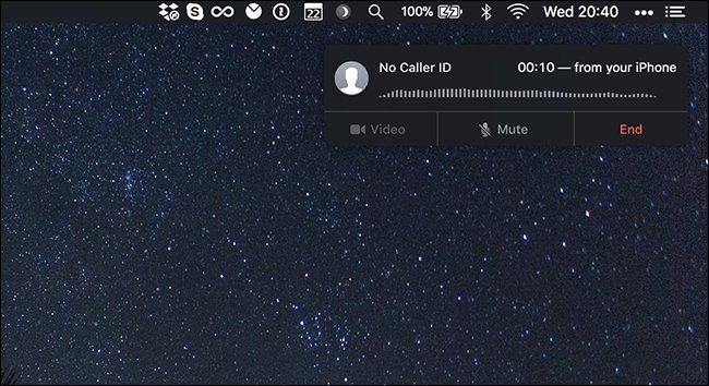 iphone call on mac