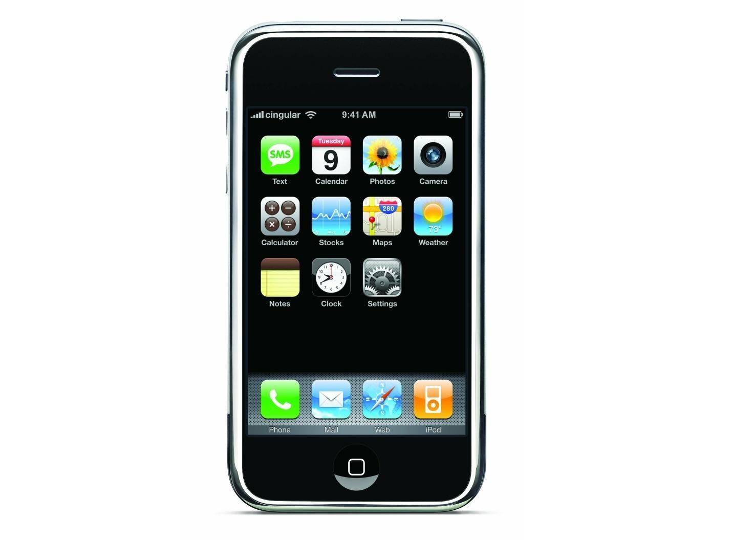 iphone in 2007