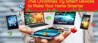 make your home smarter on christmas
