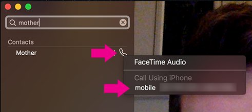 making call from mac