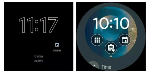 manage complications Android Wear Smartwatch