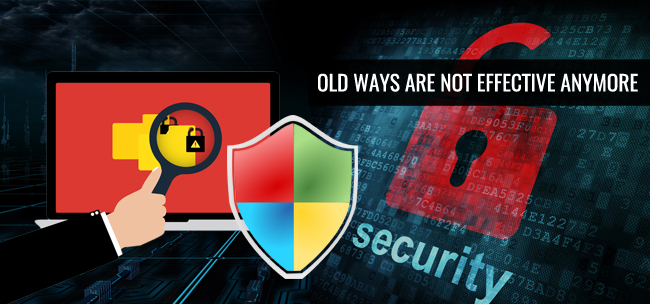 old ways for ransomware detection not effective