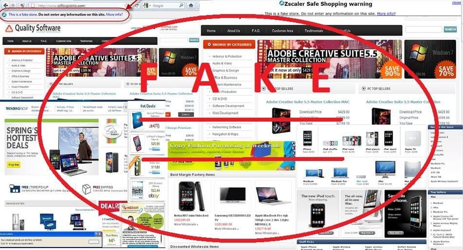 online shop scam