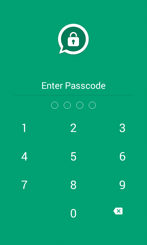 password protect chat on whatsapp