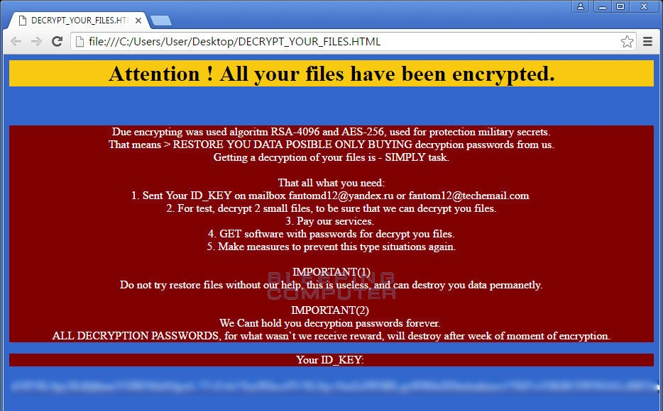 phantom ransomware