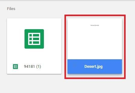 preview file google drive