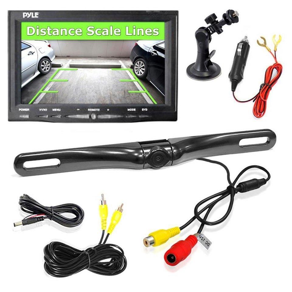 pyle car backup camera
