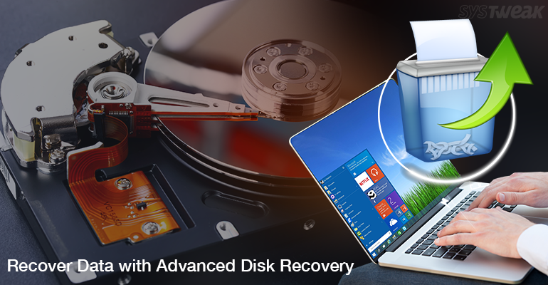 recover deleted data from advanced disk recovery tool