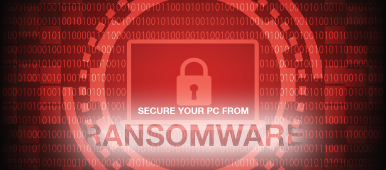 secure your PC from ransomware