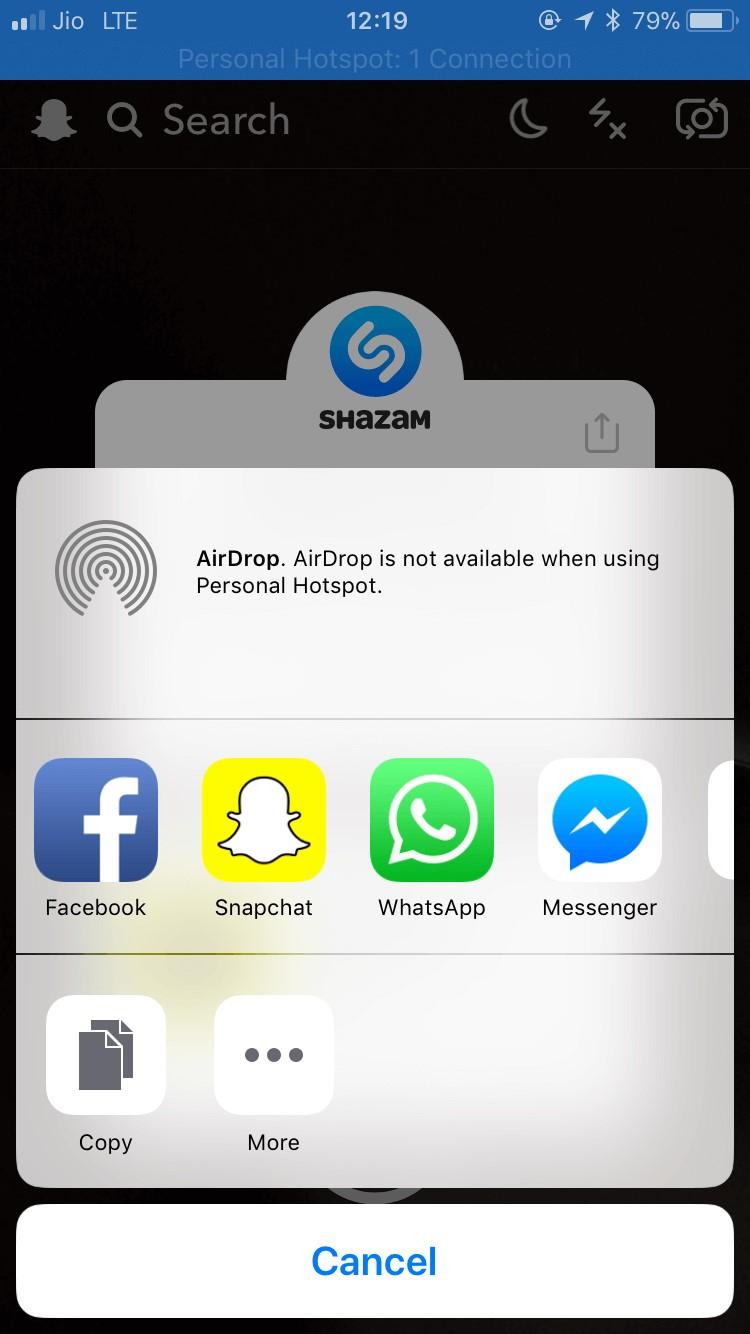 share shazam