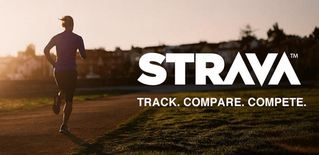 strava app for running and monitoring