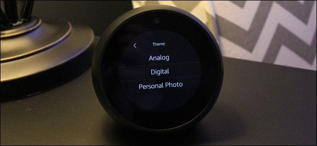 theme options echo spot