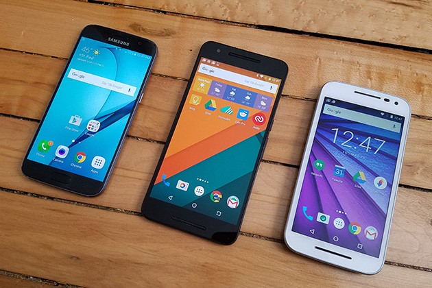 various-android-phones