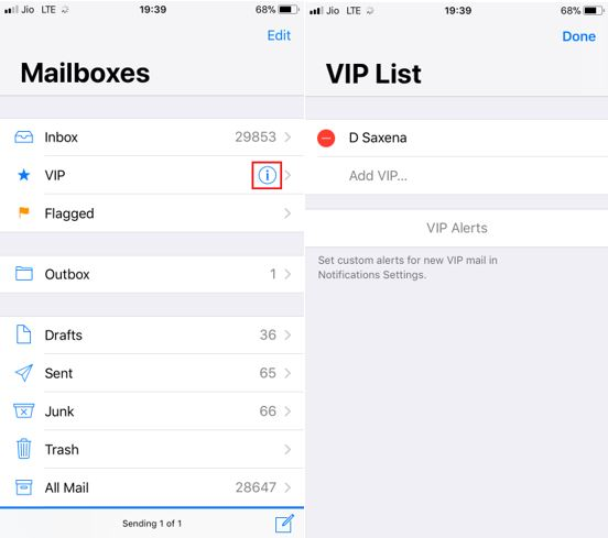 how to add a mailbox on iphone mail