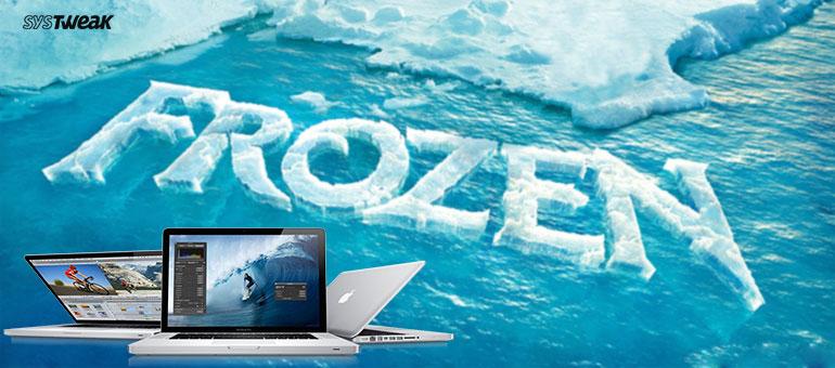How to fix a frozen mac