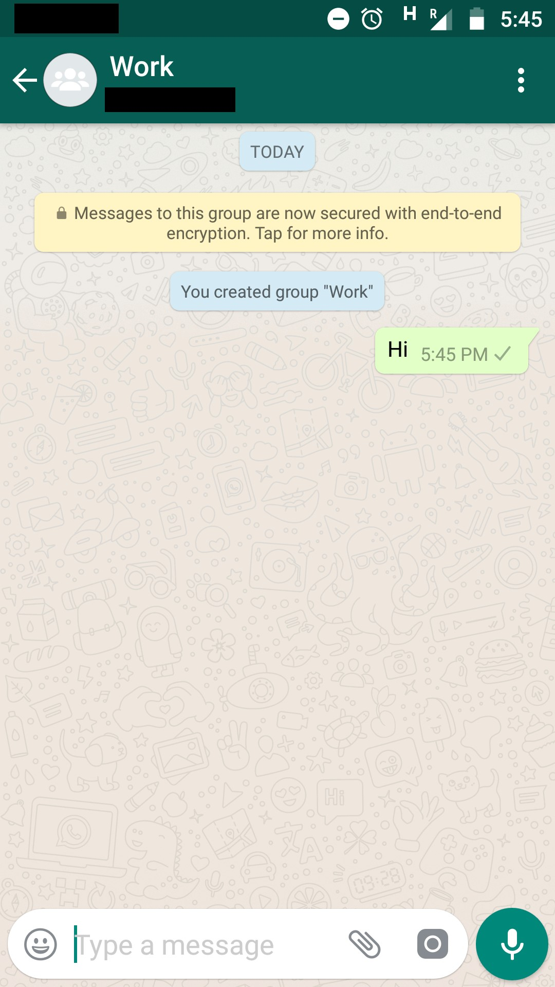 whatsapp create group