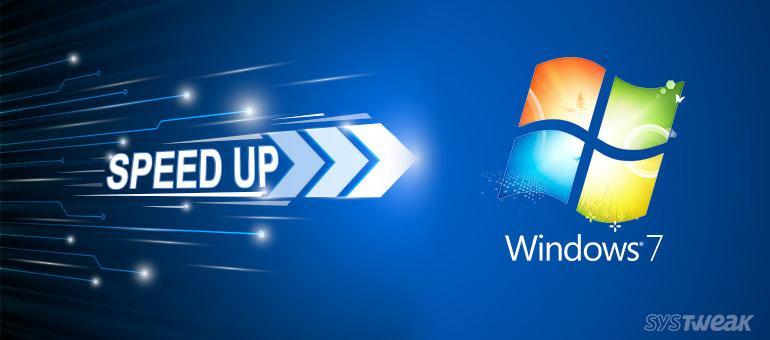 Speed up Slow running Windows 7 PC (Systweak Software)