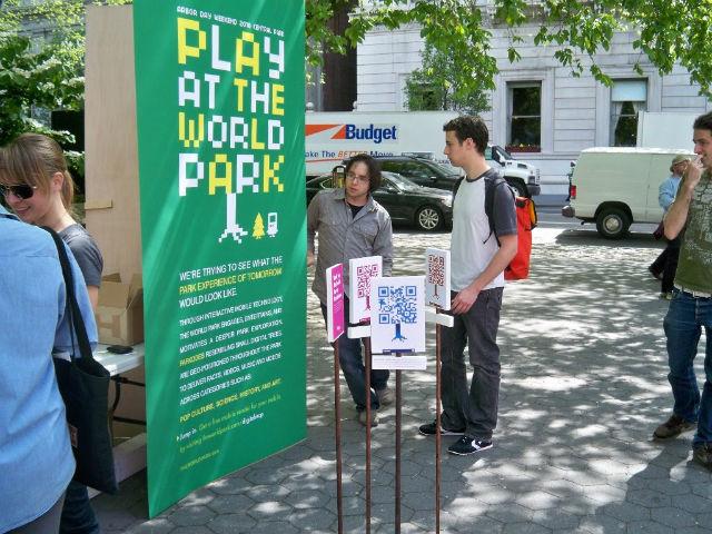 Interactive Board Game: World Park