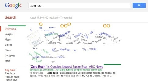 zerg-rush-on-google