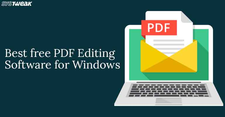 10 Best Free PDF Editing Software For Windows 2018