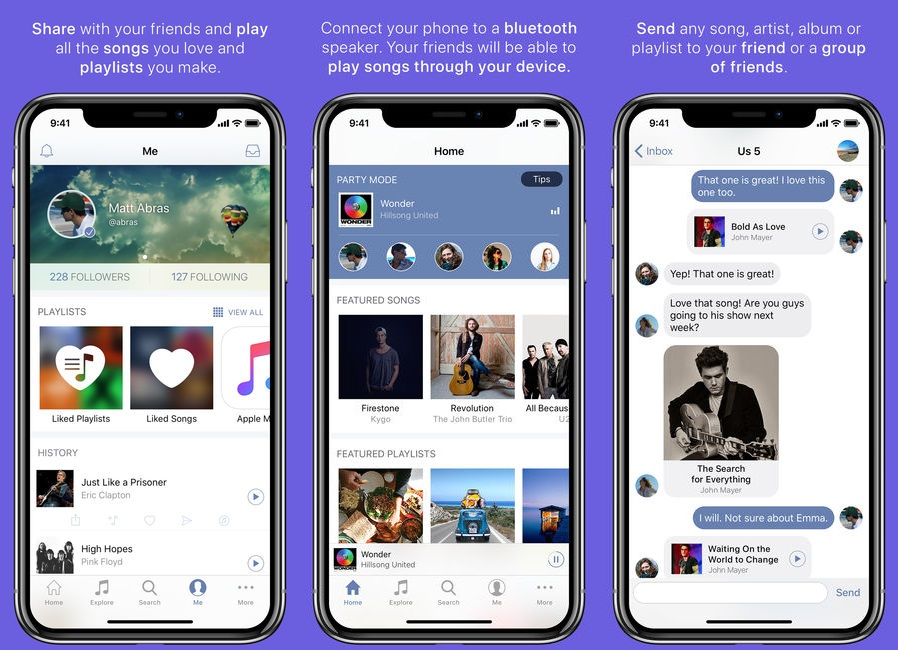 SoundShare for iphone to listen music online