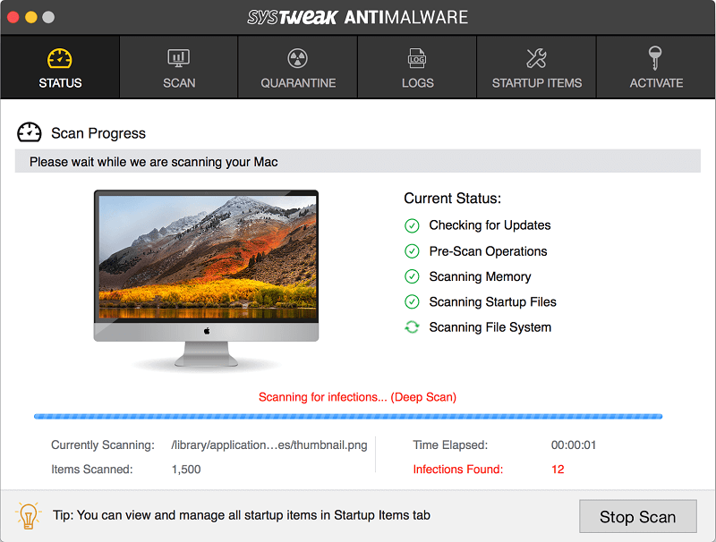 systweak anti-malware Mac