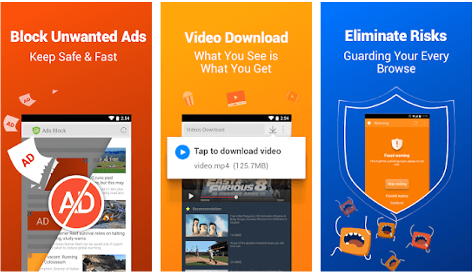 Cm browser block unwanted ads