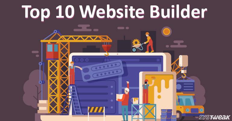 10 Best Website Builders 2018