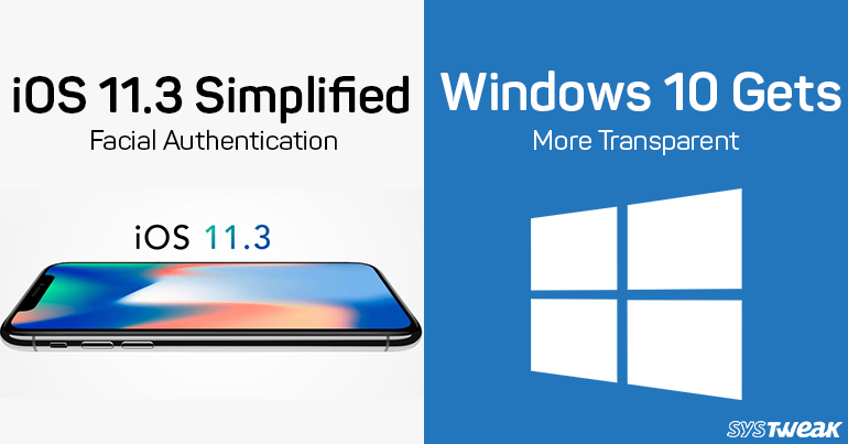 Newsletter: iOS 11.3 Is Out For Developers & Microsoft Handles Windows 10 Privacy Concerns