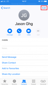 Add Phonetic Names to Contacts on Your iPhone