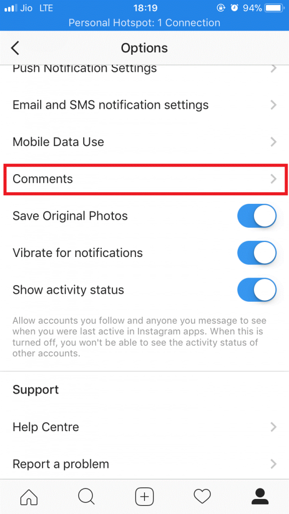 Auto-Hide Comments Containing Specific Words on Instagram