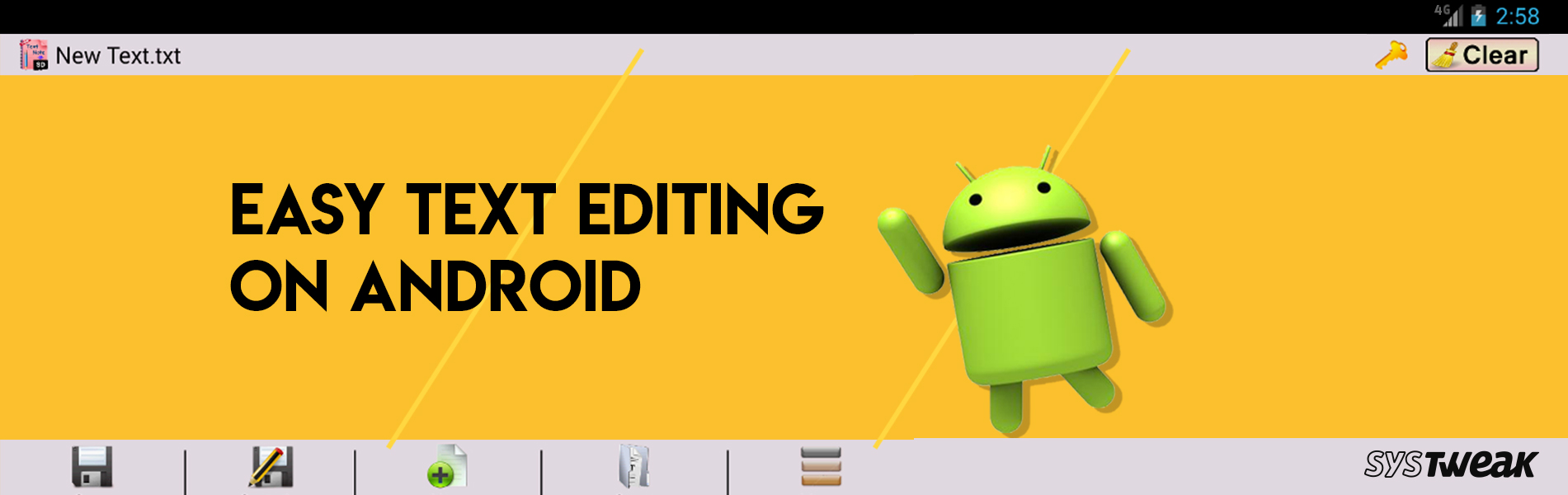 5 Best Text Editing Apps For Android In 2018