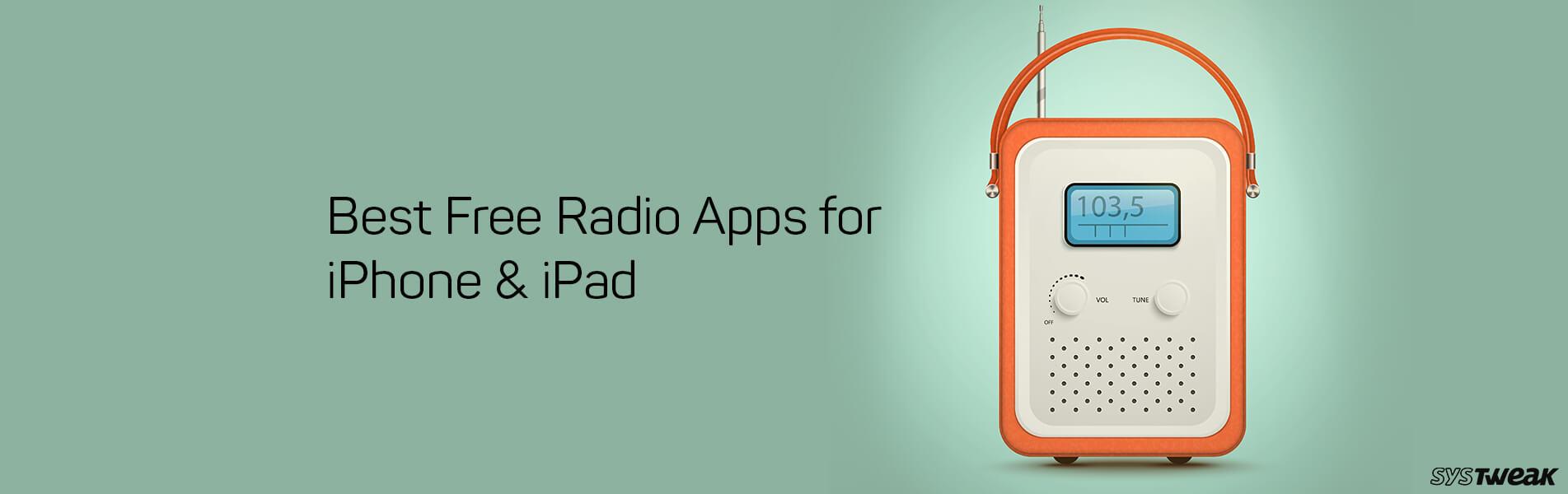Best Free Radio Apps For iPhone & iPad