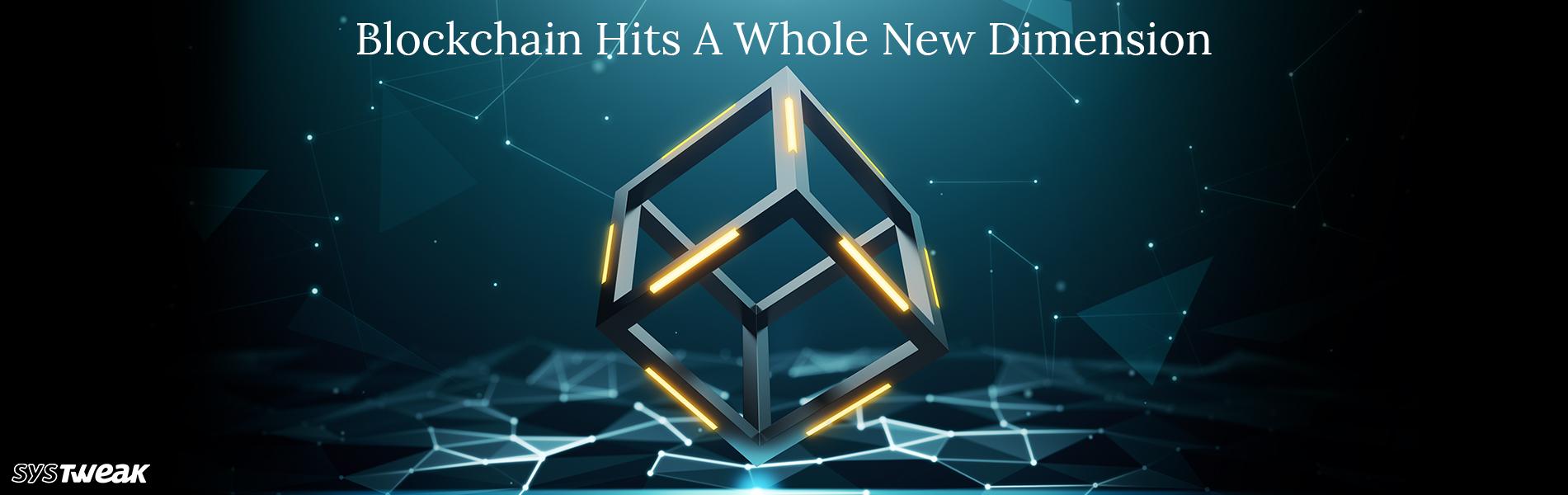 BlockChain Moving Towards A New Start