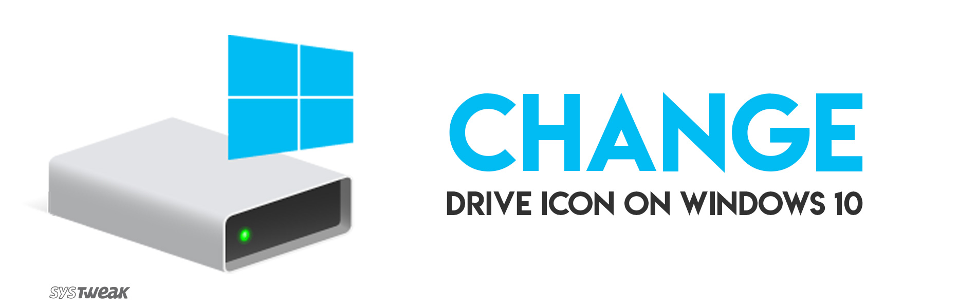 How To Change Drive Icon On Windows 10?