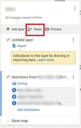 Create Custom Directions with Google Maps