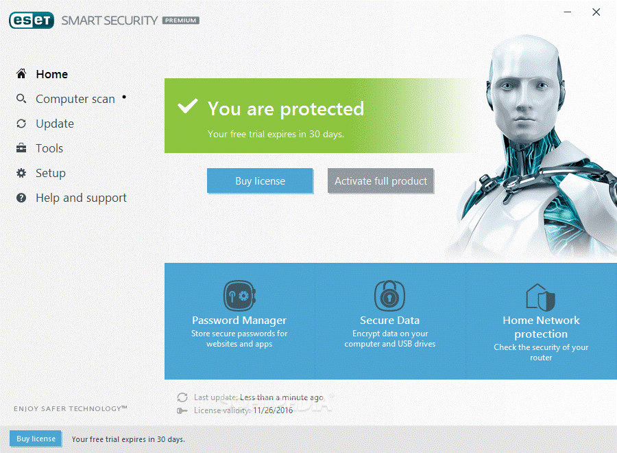 ESET Smart Security Premium- malware removal