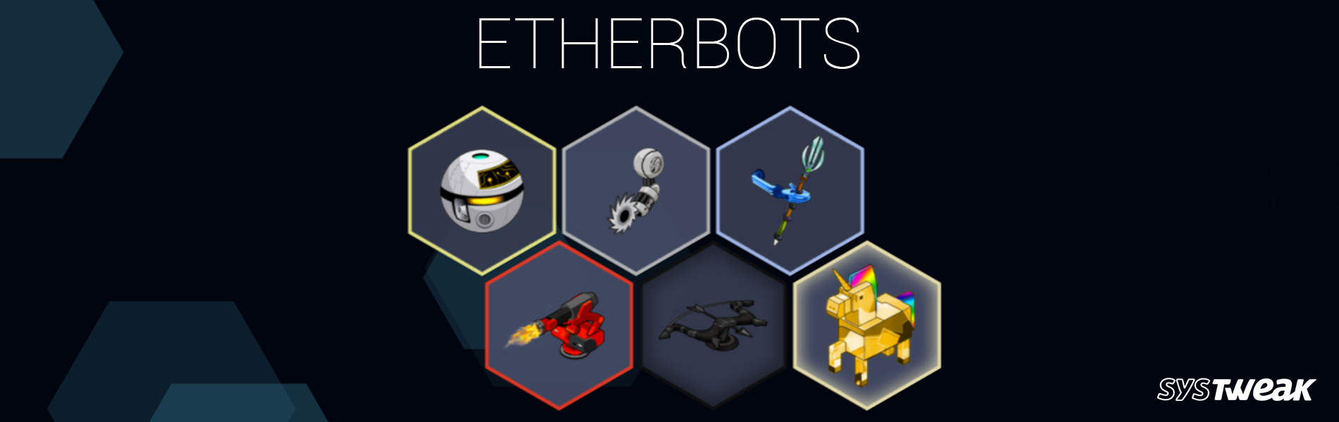 ETHERBOTS: The New Ethereum Blockchain Based Robotic App