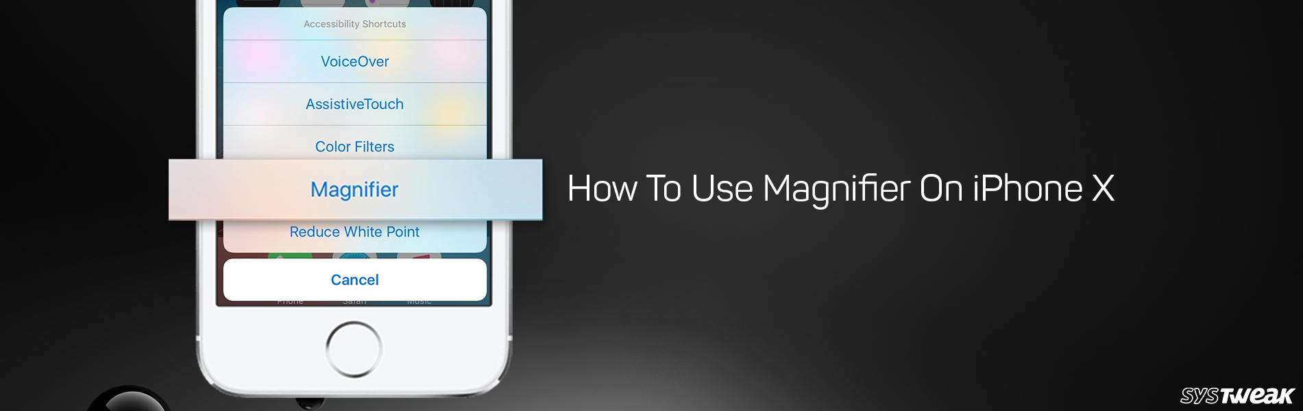 How To Use Magnifier On iPhone X