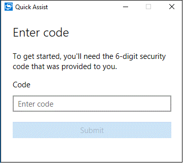 ow to Setup Remote Session with Quick Assist