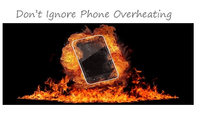 Ignoring phone overheating