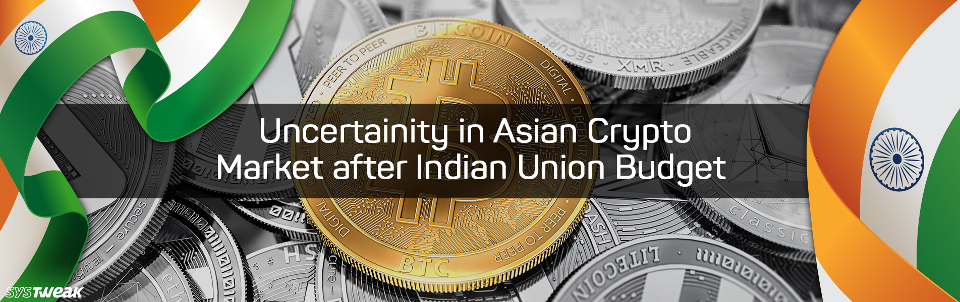 Indian Union Budget Almost Kills Asian Crypto Market
